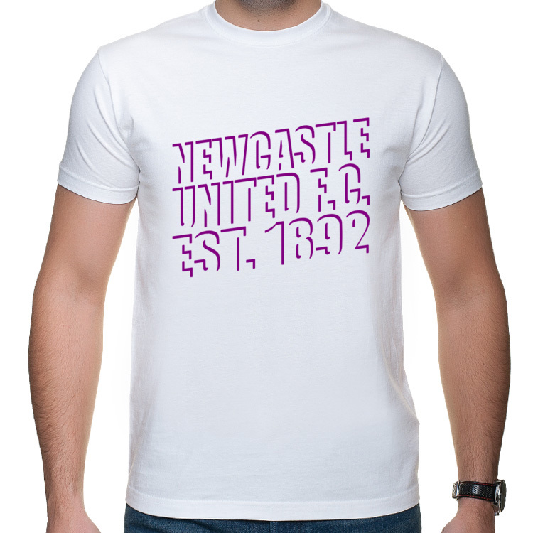 Newcastle United F.C. est. 1892 ver 3